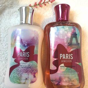 Paris Amour Lotion & Shower Gel Bundle